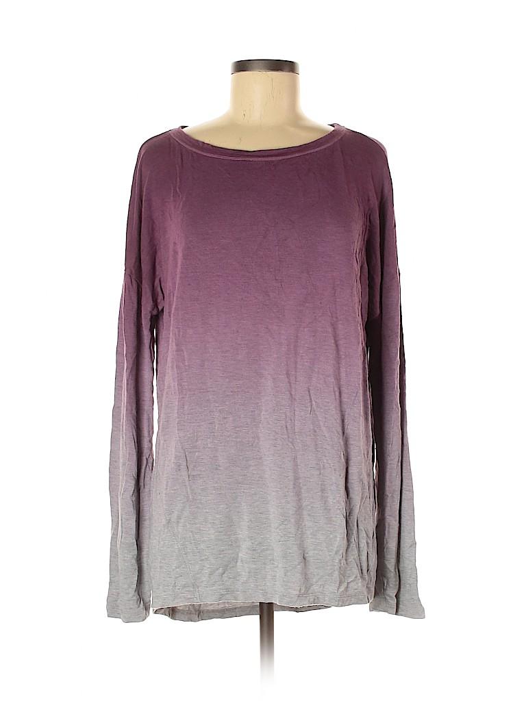 Lou & Grey Women Long Sleeve T-Shirt Size L