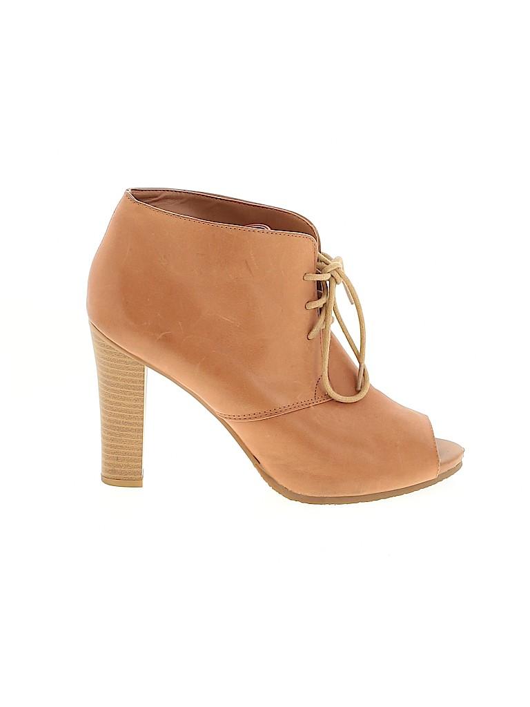 Ann Taylor LOFT Women Ankle Boots Size 6 1/2