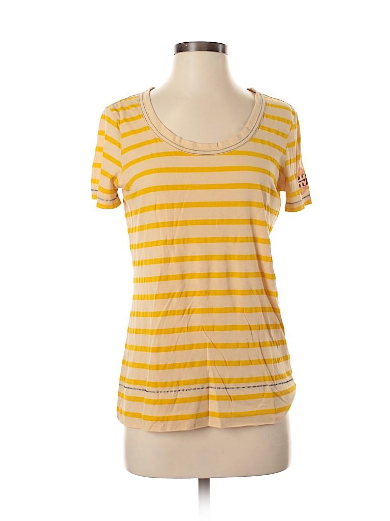 Tory Burch Women Short Sleeve T-Shirt Size S
