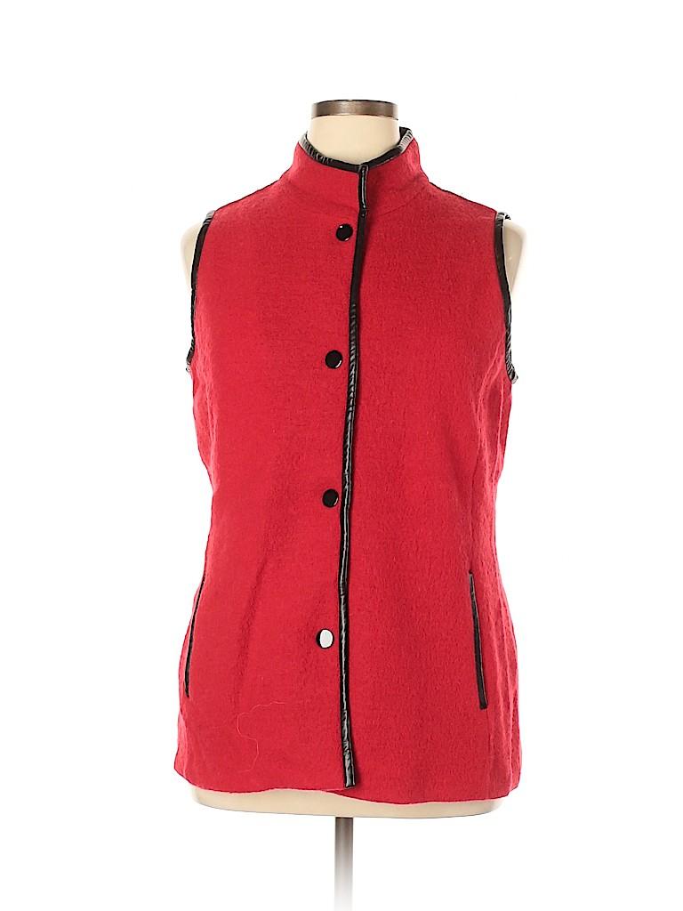 Chico's Women Wool Cardigan Size Lg (2)
