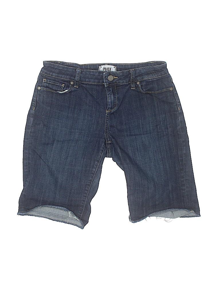 Paige Women Denim Shorts 28 Waist