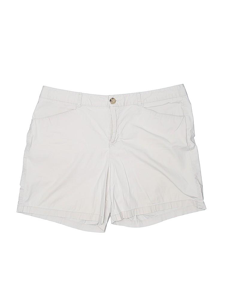 Dockers Women Khaki Shorts Size 14