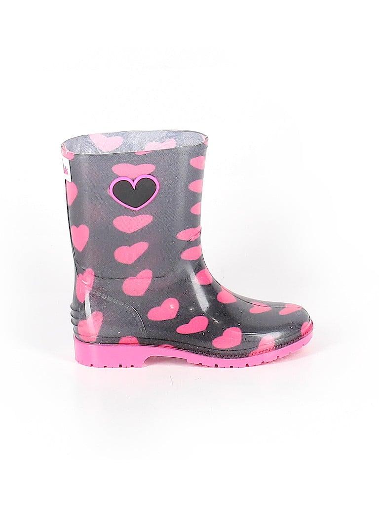 I heart Yokids Girls Rain Boots Size 1