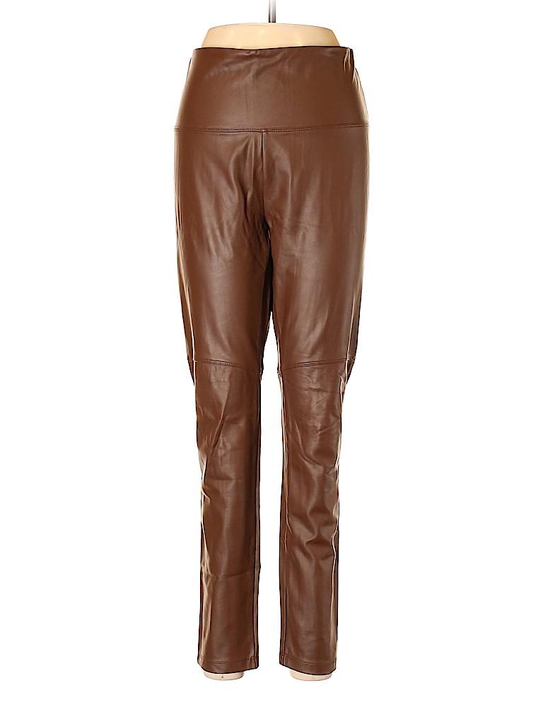Lyssé Plus Women Faux Leather Pants Size L (Plus)