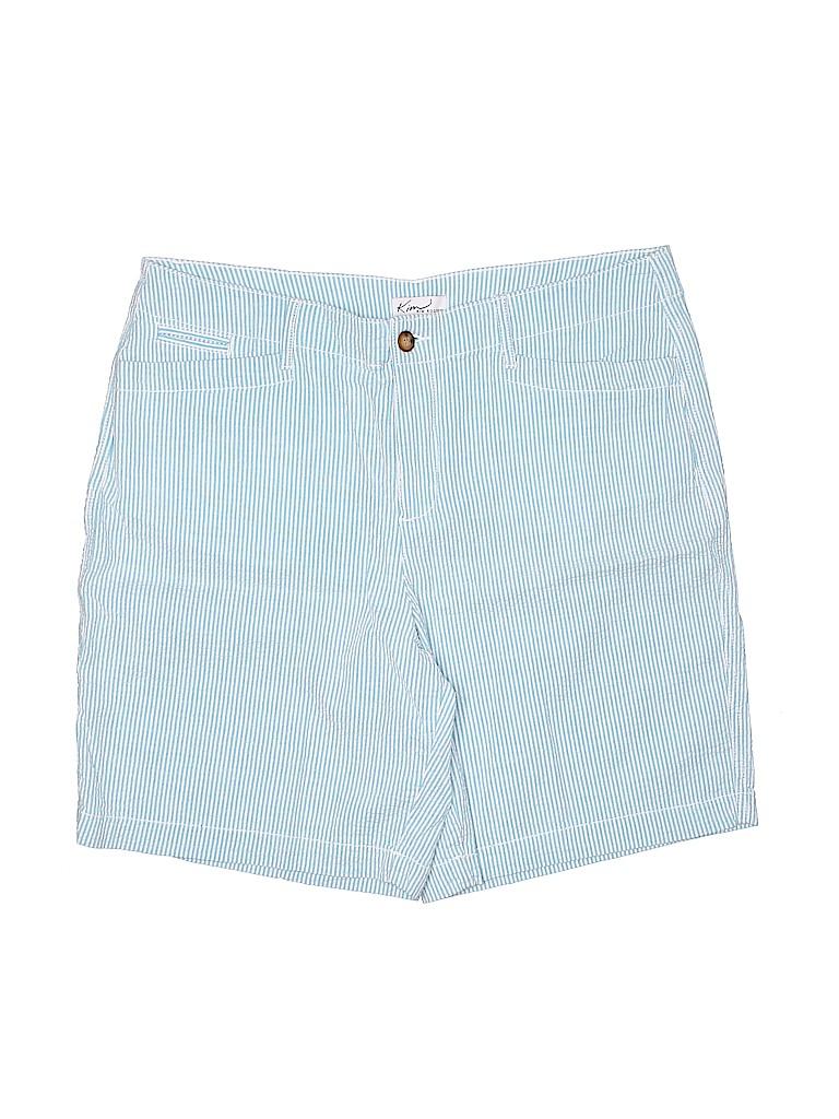 Kim Rogers Women Khaki Shorts Size 16