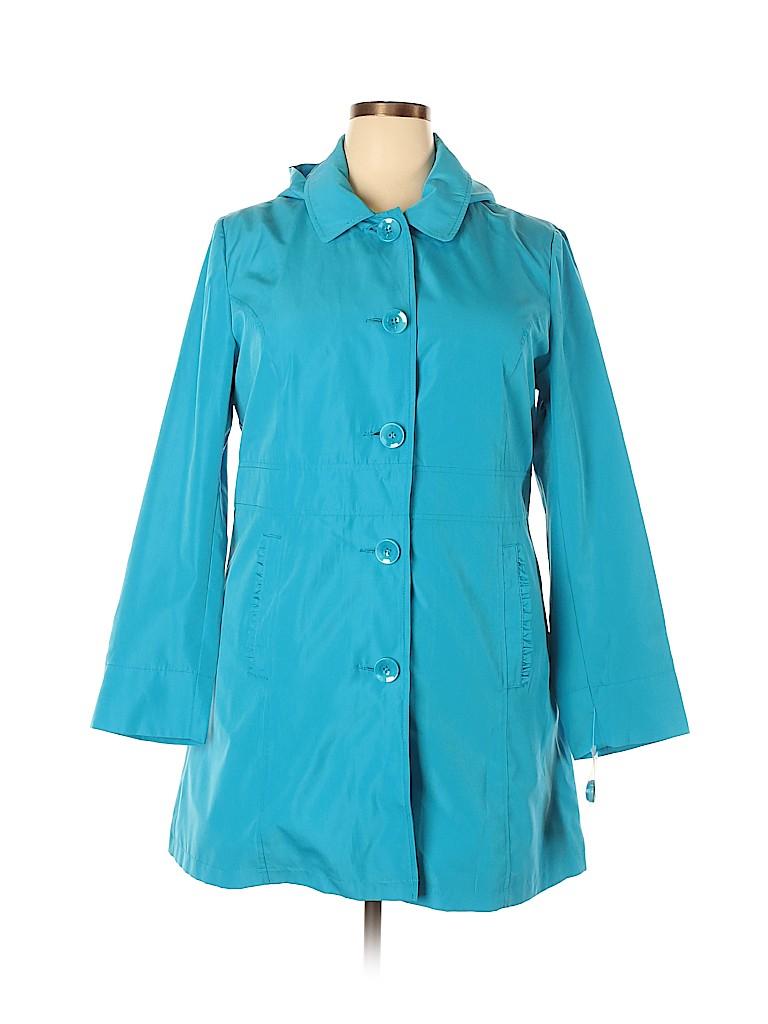 Relativity Women Trenchcoat Size XL