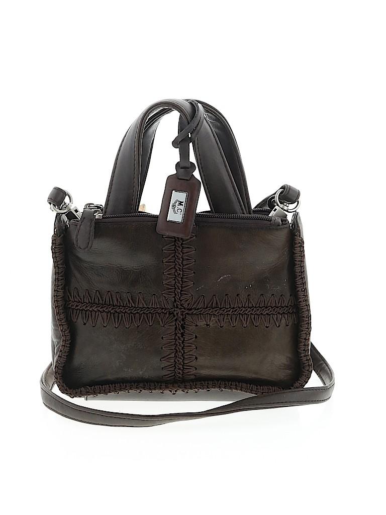 M.C Women Leather Satchel One Size