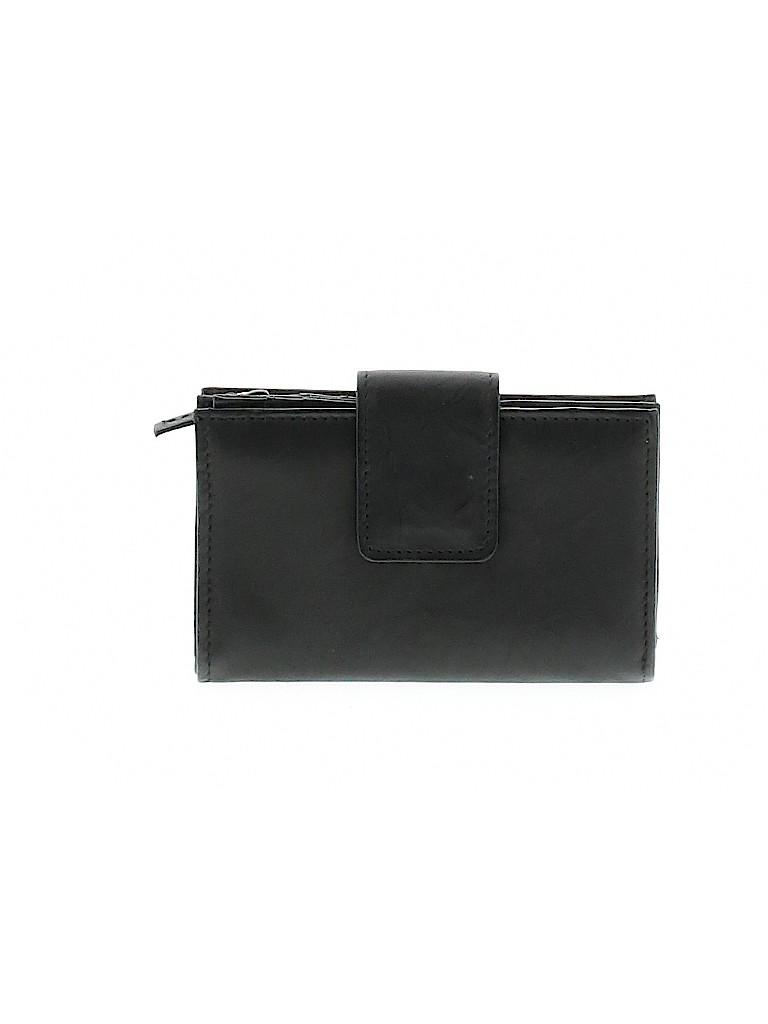 Croft & Barrow Women Leather Wallet One Size