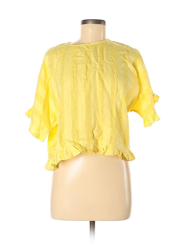 Zara Basic Women 3/4 Sleeve Blouse Size M