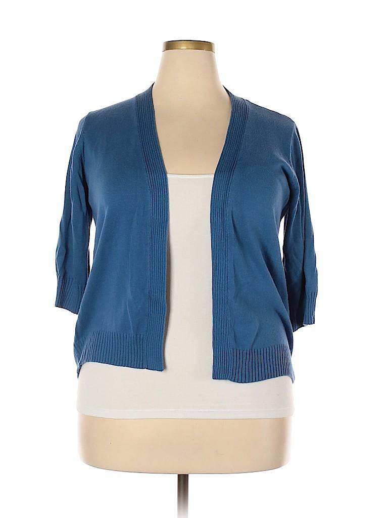 DressBarn Women Cardigan Size 1X (Plus)