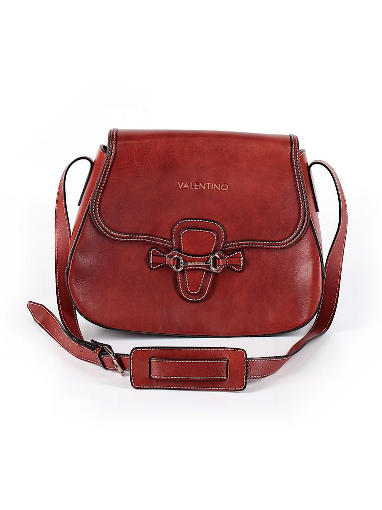 VALENTINO By Mario Valentino Women Leather Crossbody Bag One Size
