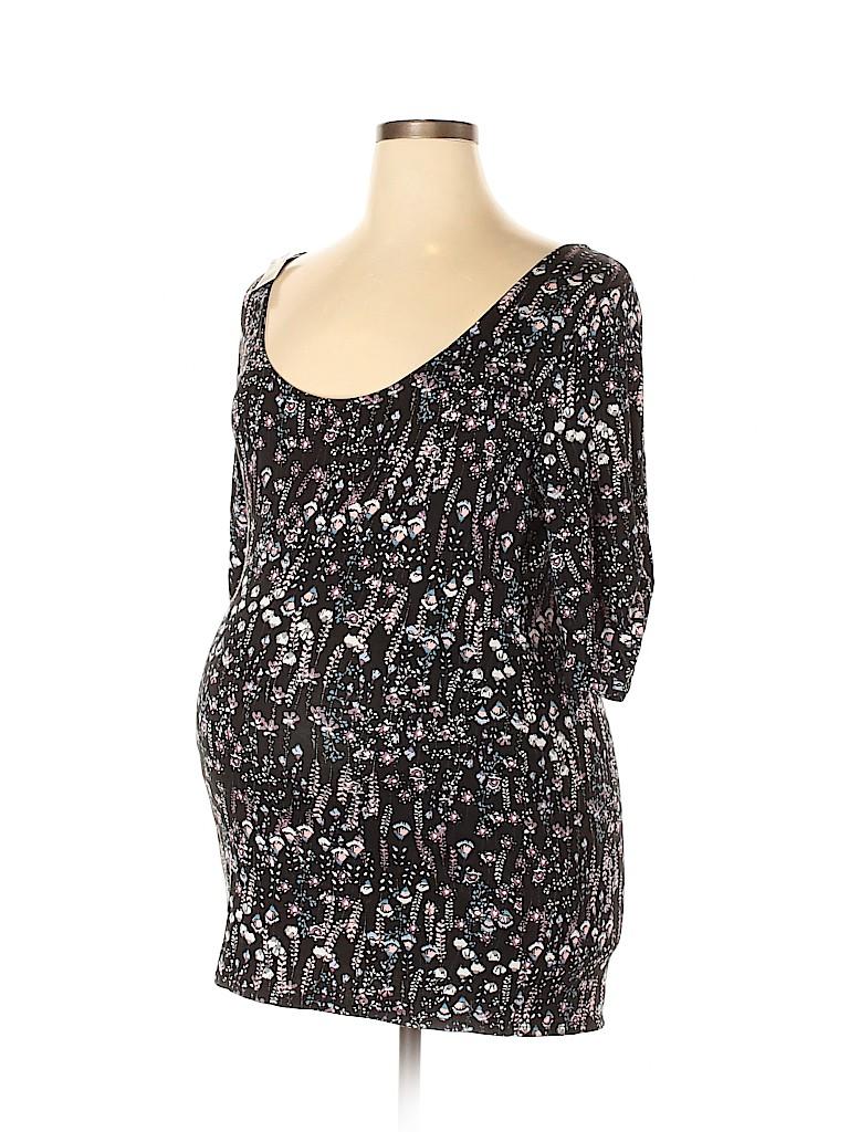 Motherhood Women 3/4 Sleeve Top Size XL (Maternity)