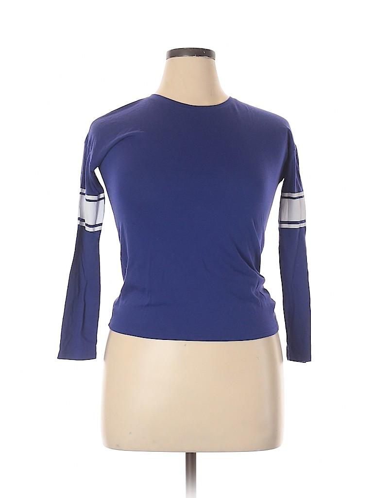 Old Navy Women Long Sleeve T-Shirt Size XL
