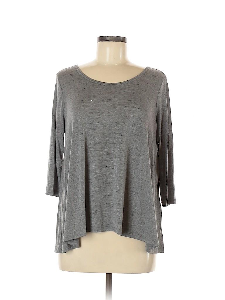 Lush Women Short Sleeve Top Size M