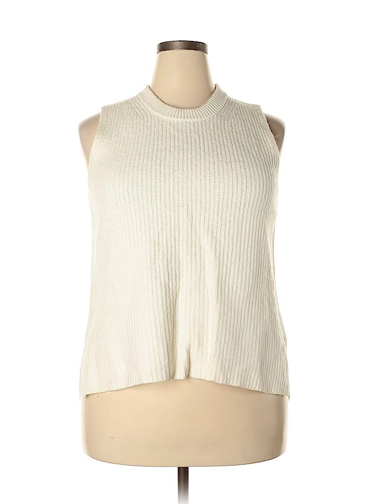 J. Crew Women Sweater Vest Size XL