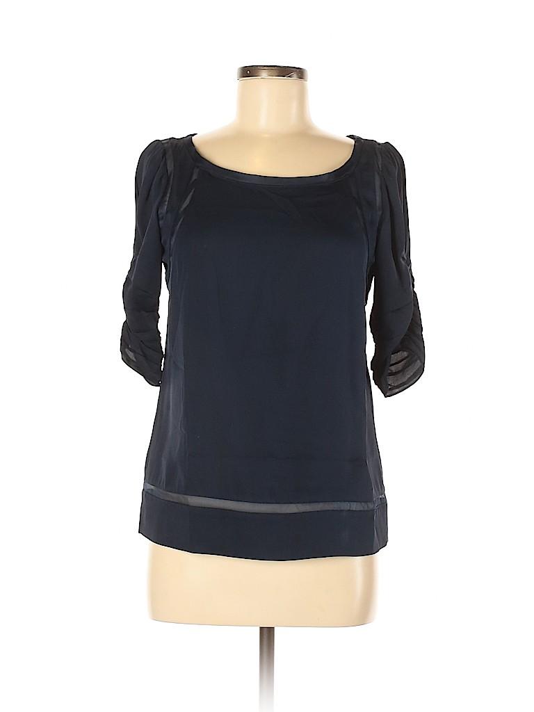 Diane von Furstenberg Women Short Sleeve Silk Top Size 4