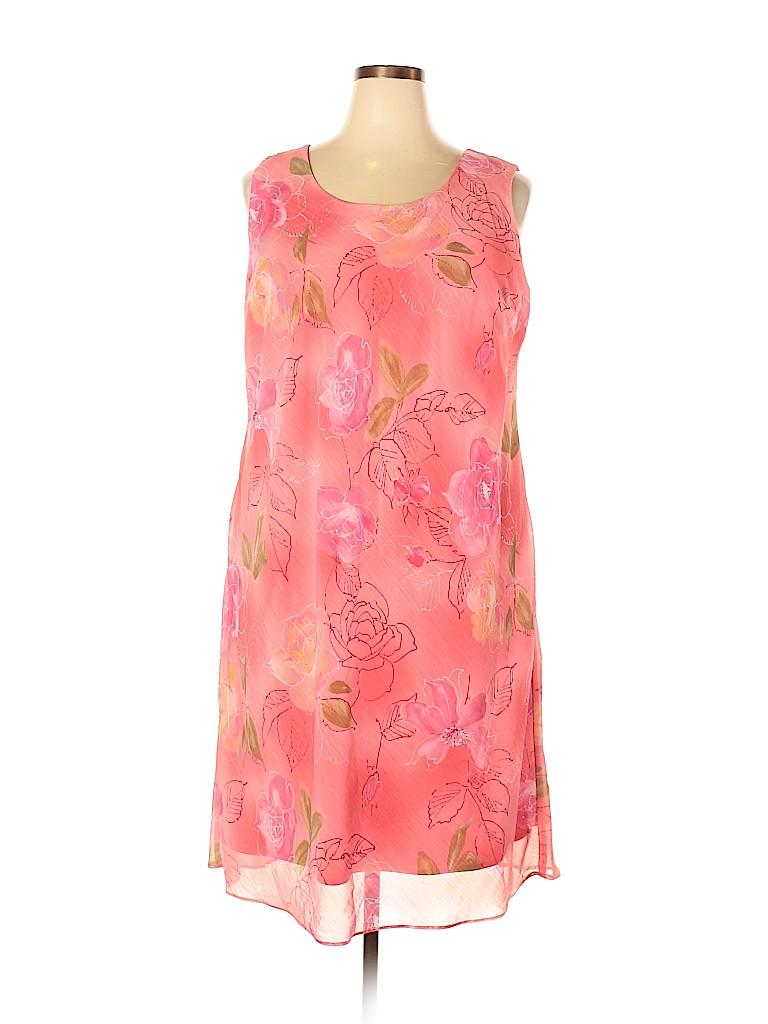 K Woman Women Casual Dress Size 18 (Plus)