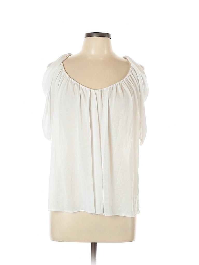 Cynthia Steffe Women Short Sleeve Top Size L
