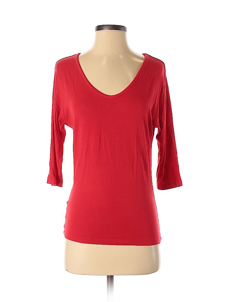 Ann Taylor Factory Women 3/4 Sleeve T-Shirt Size XS
