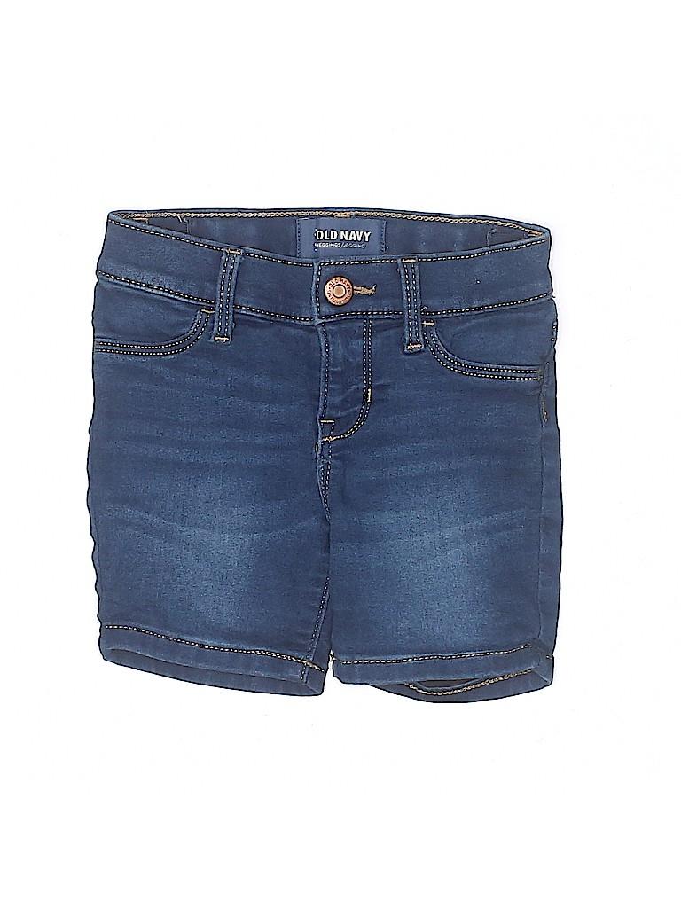Old Navy Girls Denim Shorts Size 5