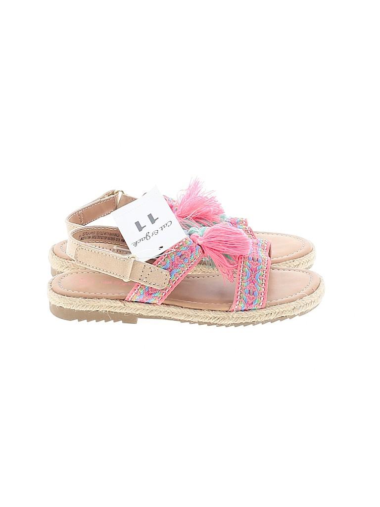 Cat & Jack Girls Sandals Size 11