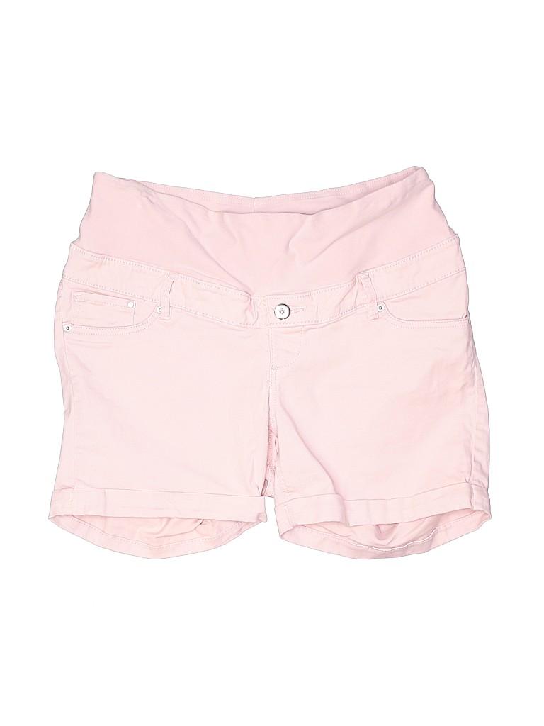 H&M Mama Women Denim Shorts Size 12 (Maternity)