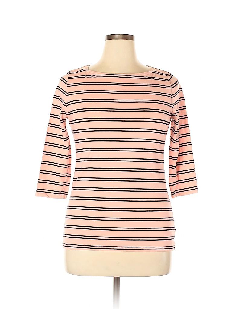 Merona Women 3/4 Sleeve T-Shirt Size L