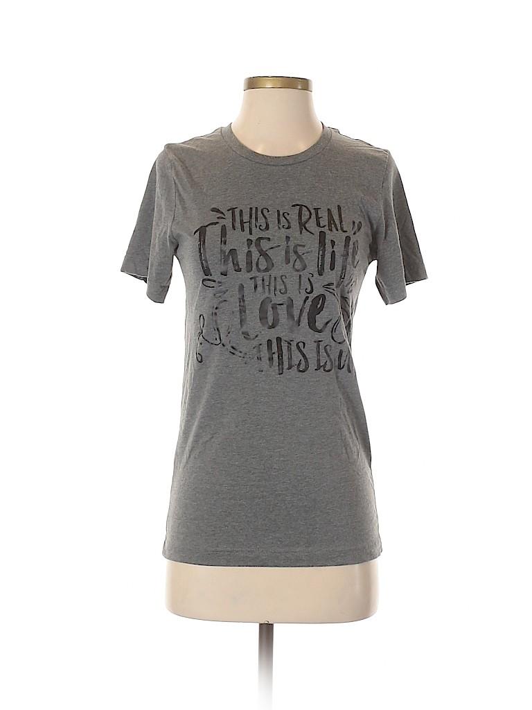 Assorted Brands Women Short Sleeve T-Shirt Size S