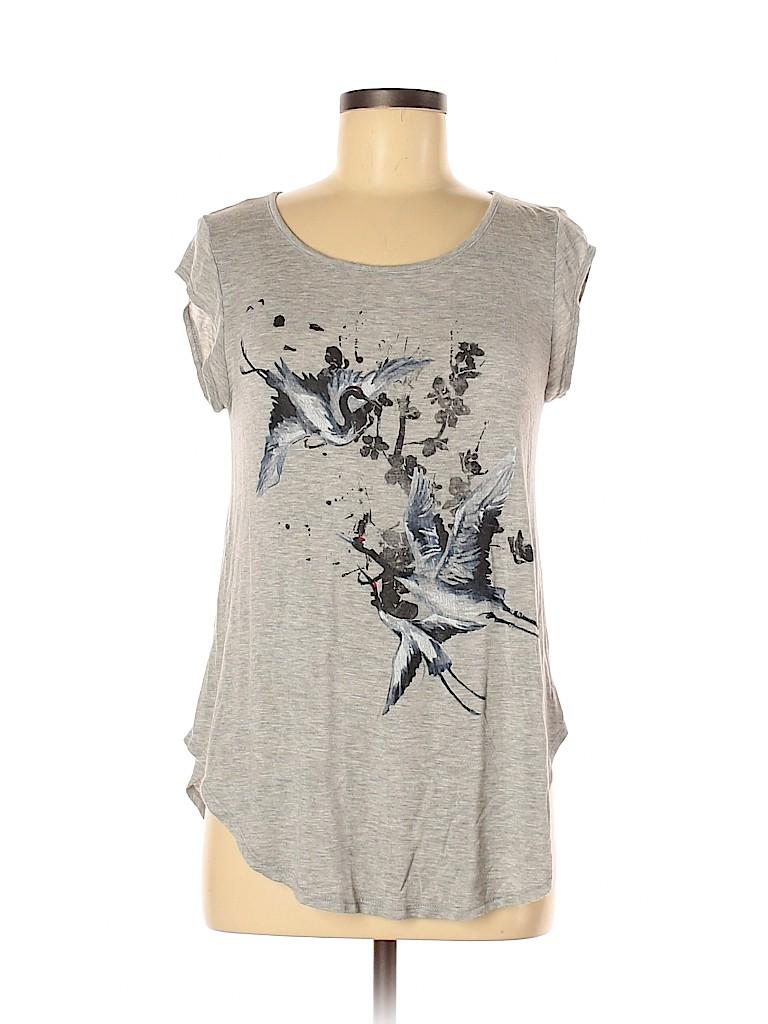 Paper Crane Women Short Sleeve T-Shirt Size M