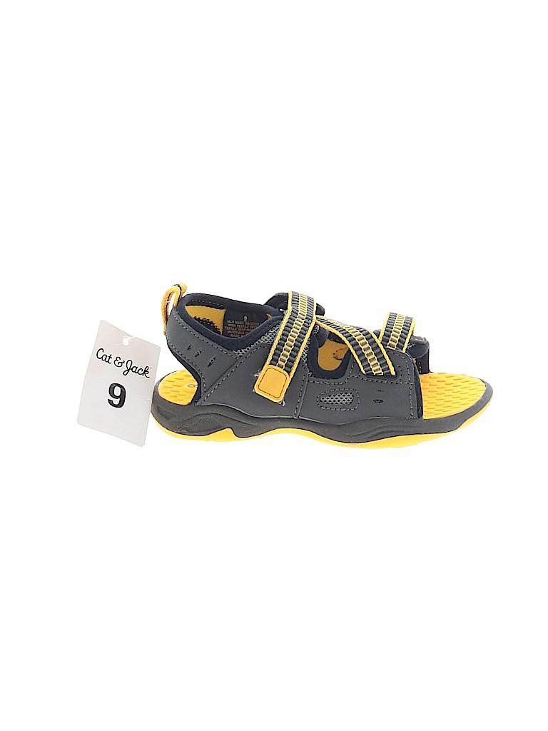 Cat & Jack Boys Sandals Size 9