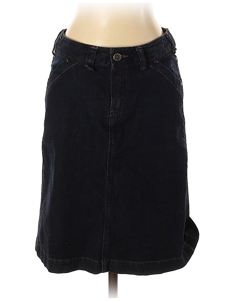Mountain Hardwear Women Denim Skirt Size 4