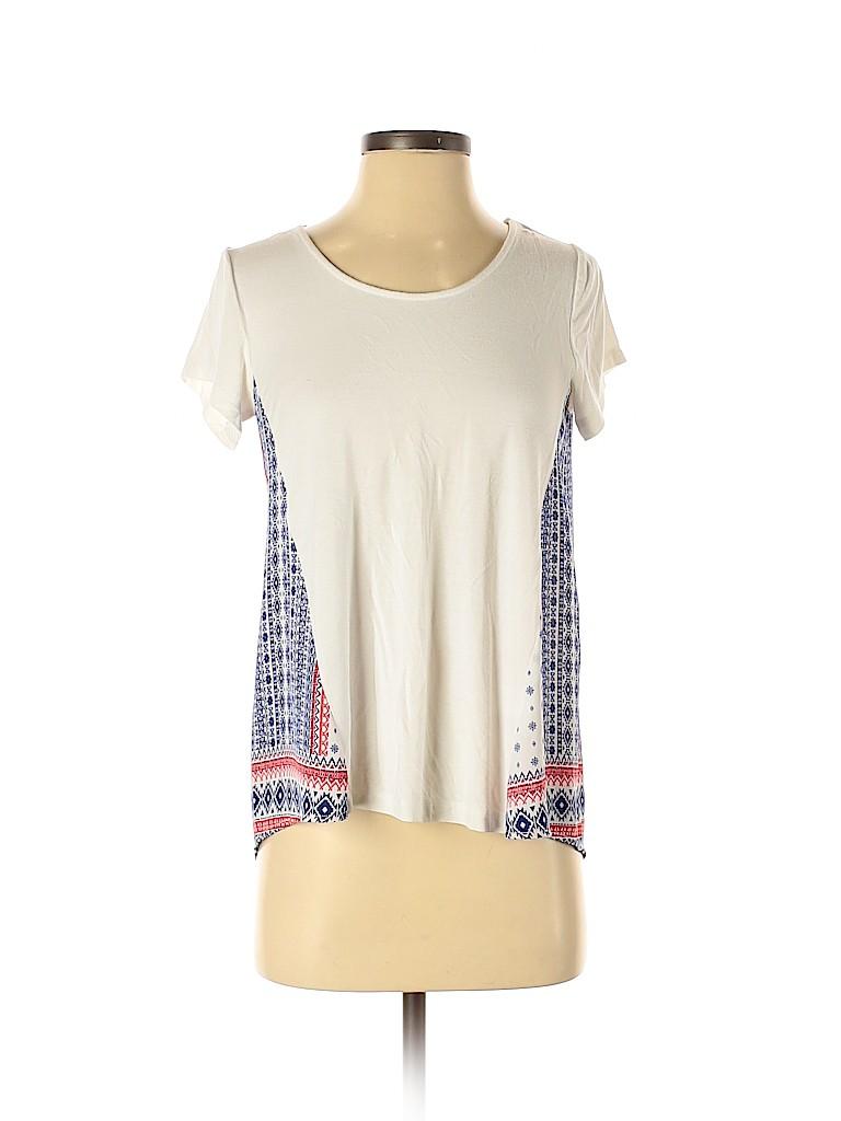 Assorted Brands Women Short Sleeve Blouse Size XS