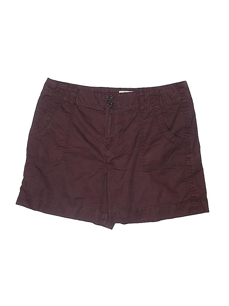 Bass Women Shorts Size 16