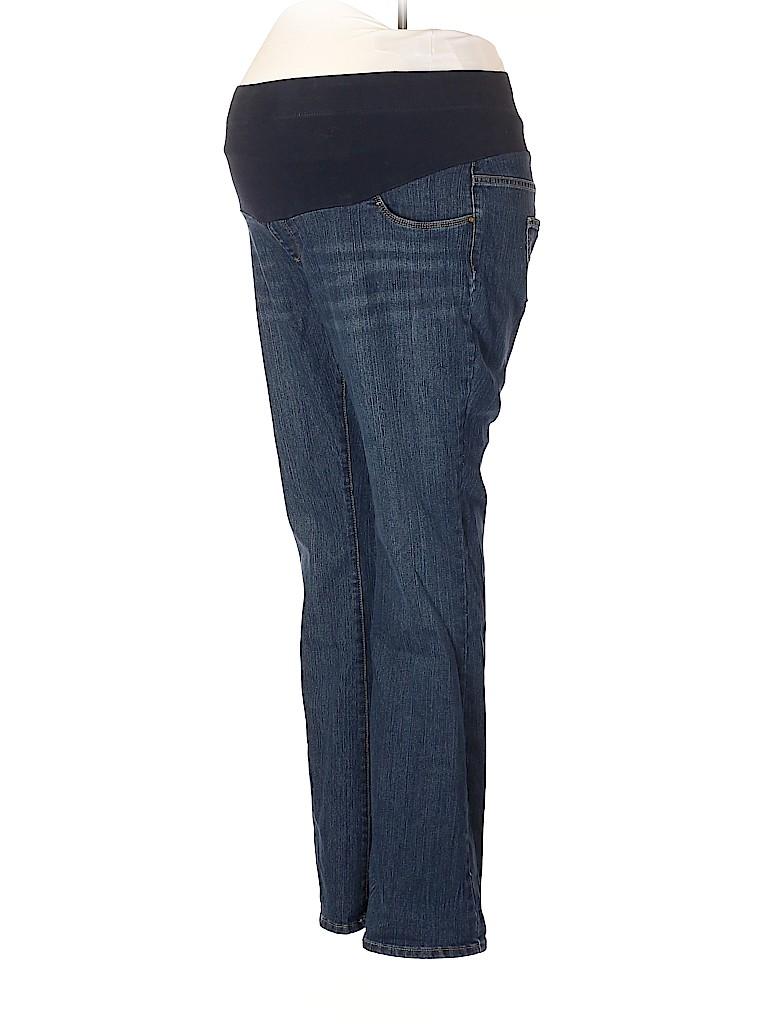 Oh Baby By Motherhood Women Jeans Size XL (Maternity)