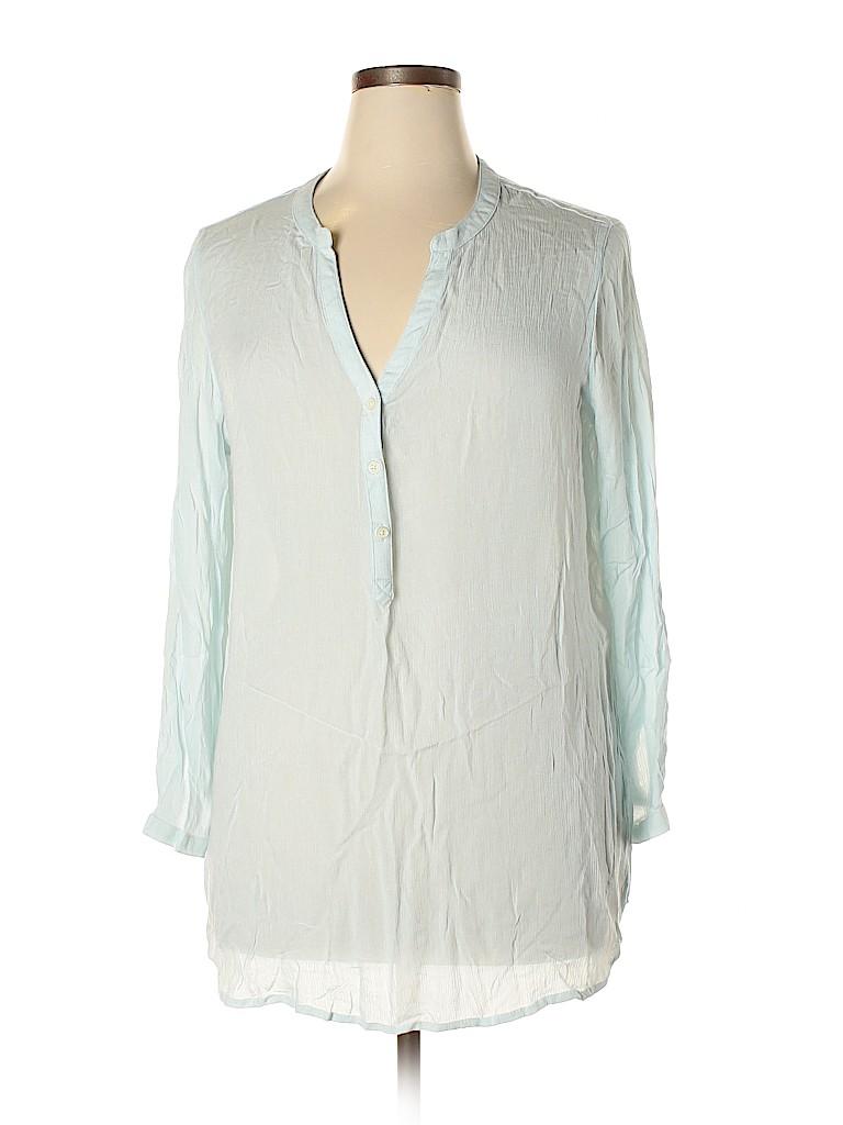 Old Navy Women Long Sleeve Blouse Size XL