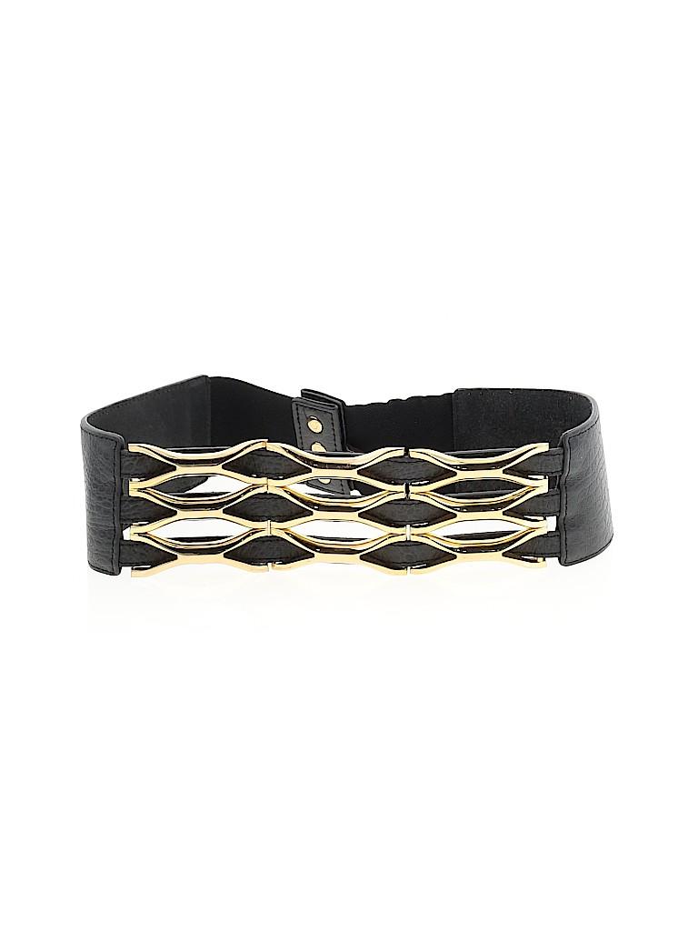 BCBGMAXAZRIA Women Leather Belt Size S