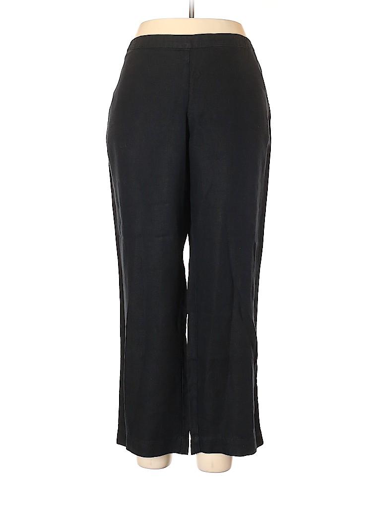 J.jill Women Linen Pants Size XL (Petite)