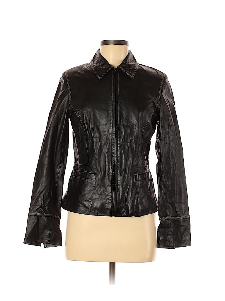 Express Women Leather Jacket Size 7 - 8