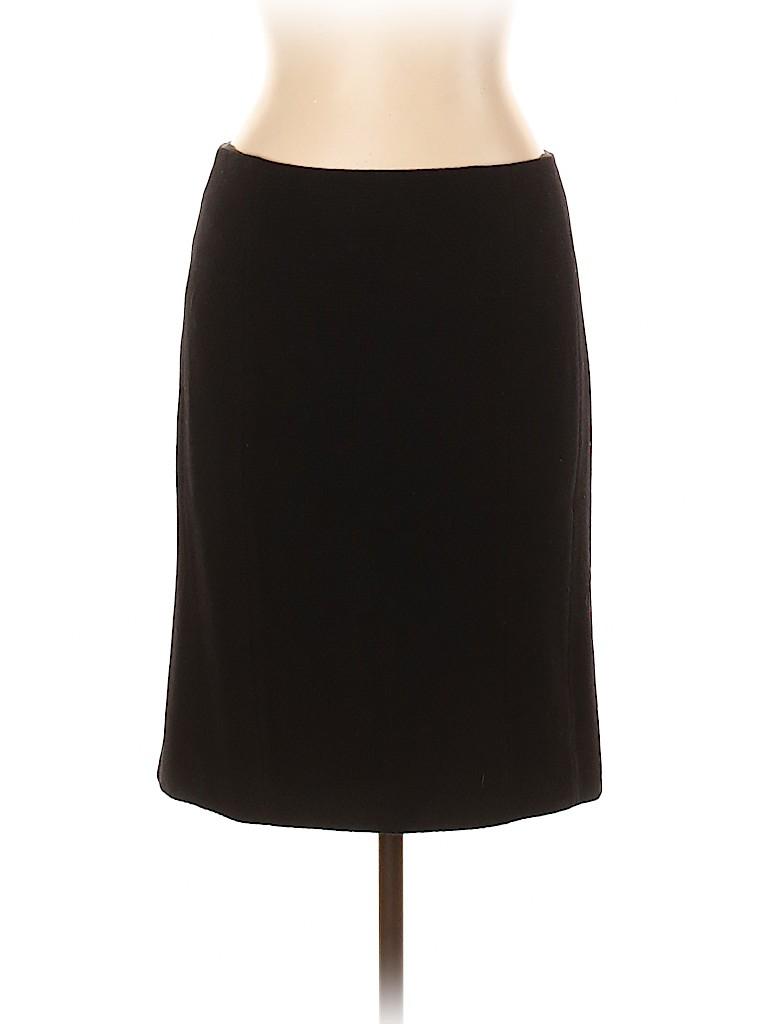 Rebecca Taylor Women Wool Skirt Size 10