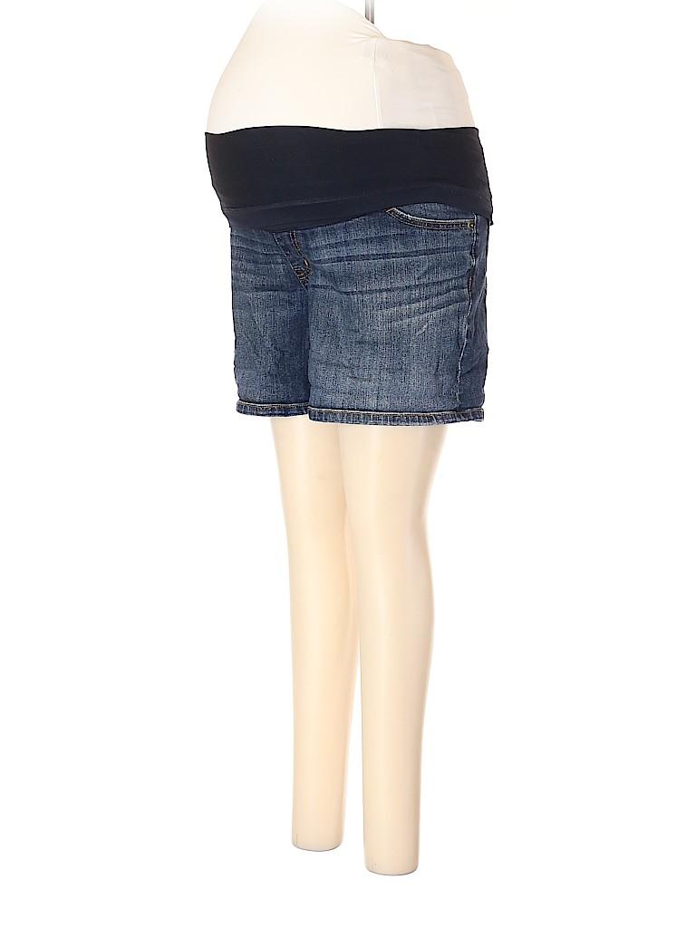 Liz Lange Maternity for Target Women Denim Shorts Size M (Maternity)