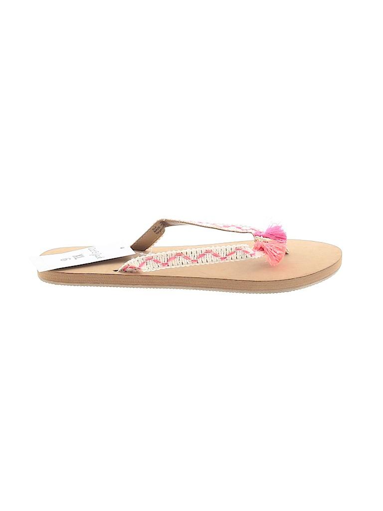 Cat & Jack Girls Flip Flops Size 6