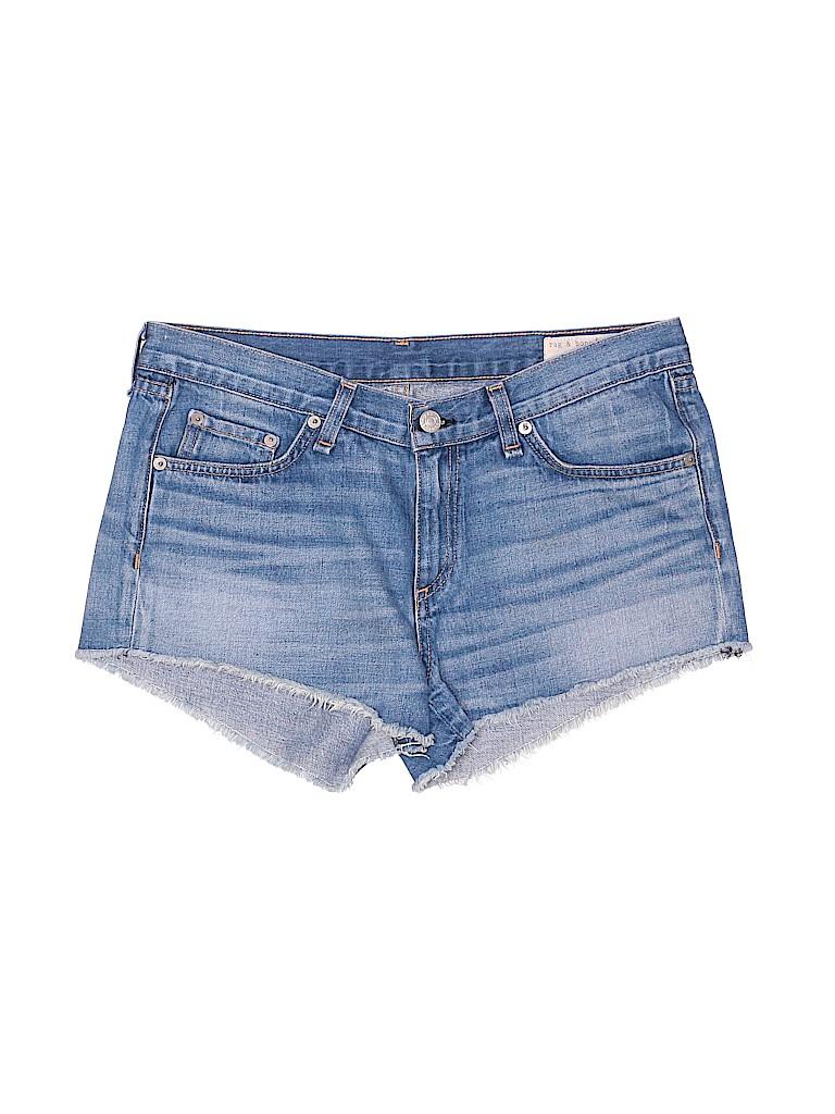 Rag & Bone Women Denim Shorts 28 Waist