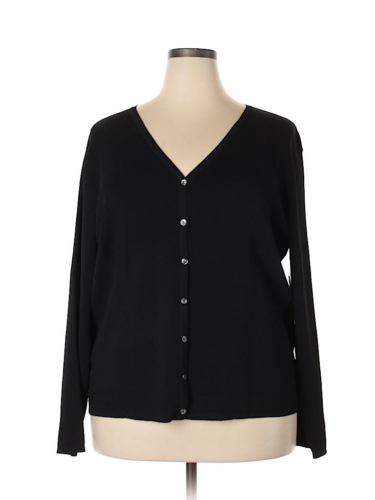 Jones New York Women Cardigan Size 3X (Plus)