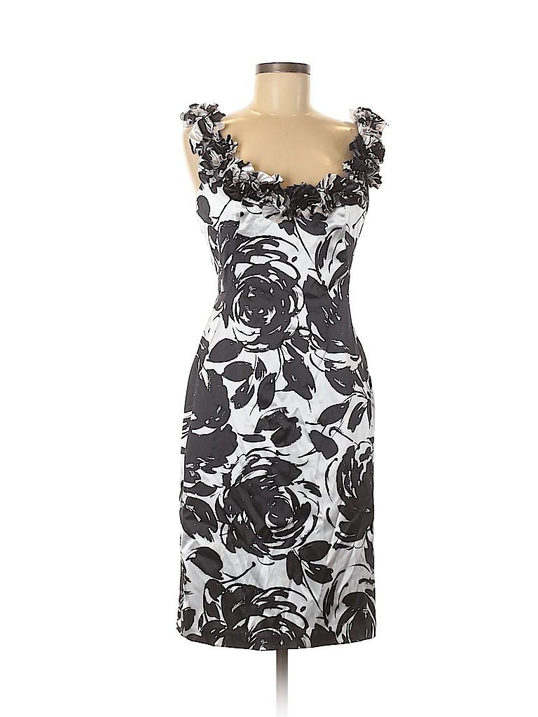 White House Black Market Women Cocktail Dress Size 8