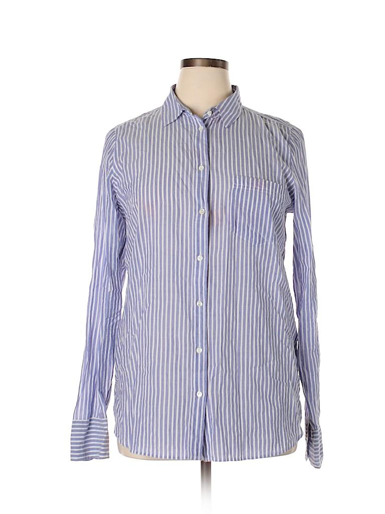 J. Crew Women Long Sleeve Button-Down Shirt Size 14
