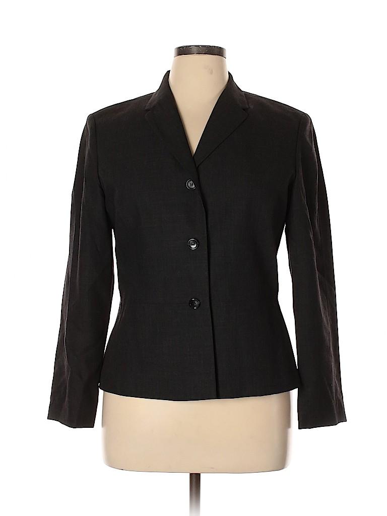 Ann Taylor Women Wool Blazer Size 14