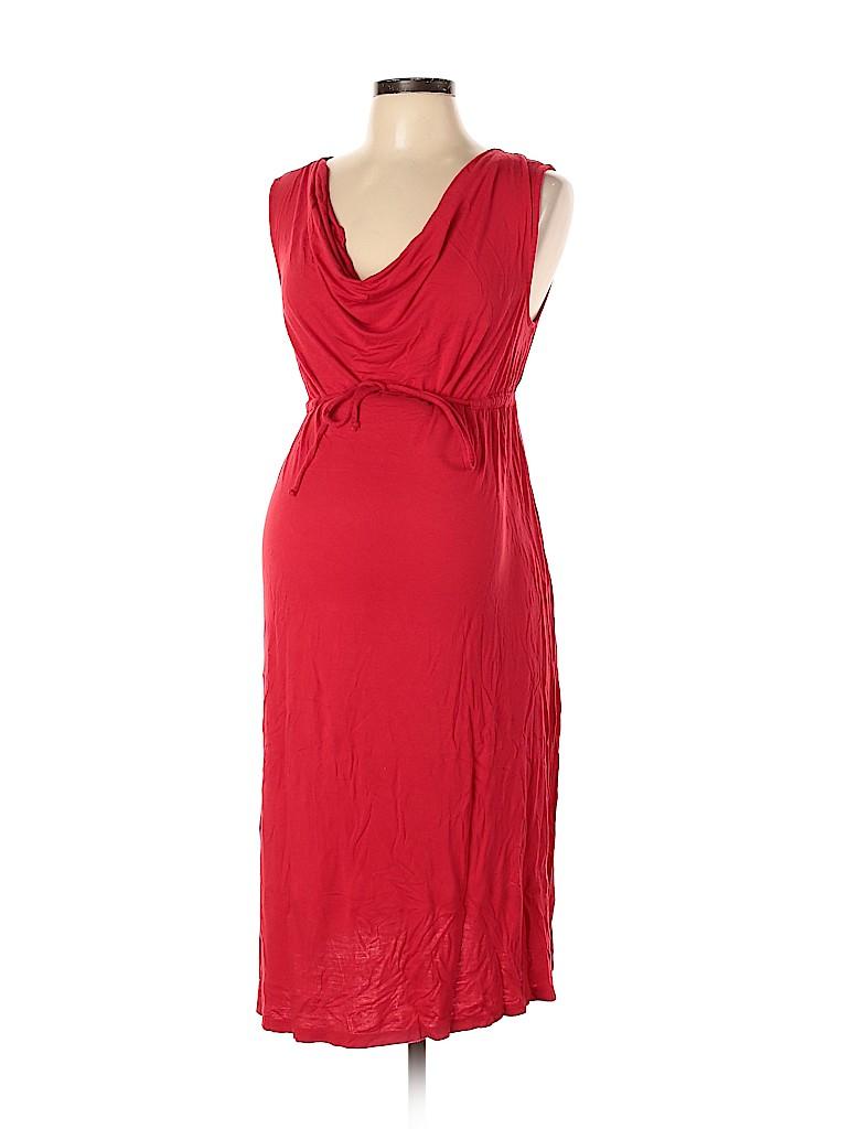 Liz Lange Maternity for Target Women Casual Dress Size L (Maternity)
