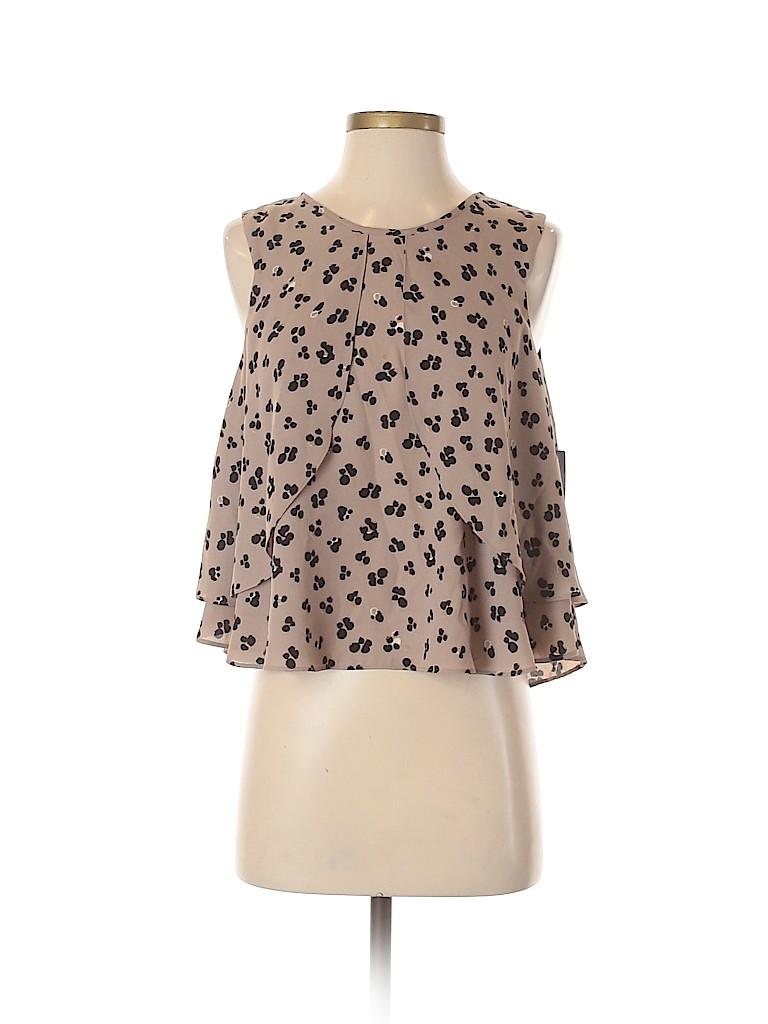 Zara Basic Women Short Sleeve Blouse Size XS