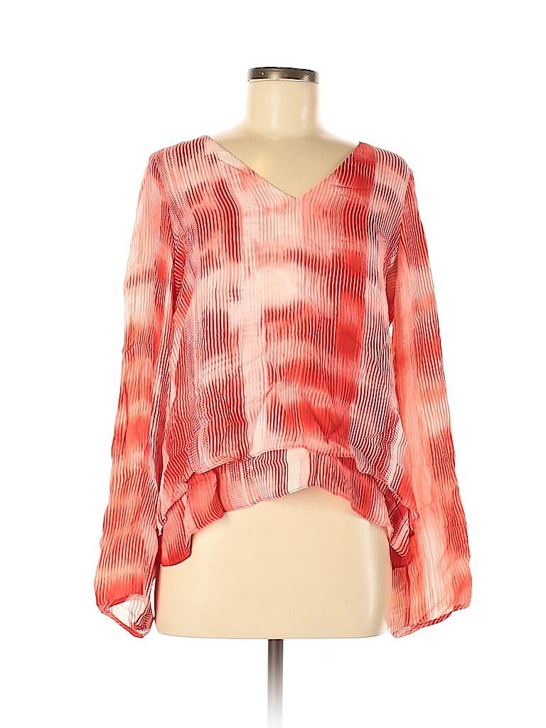 Parker Women Long Sleeve Blouse Size M