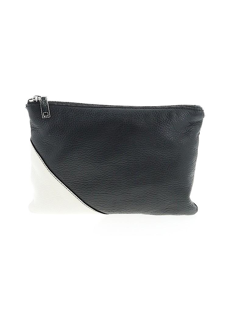 J. Crew Women Leather Clutch One Size